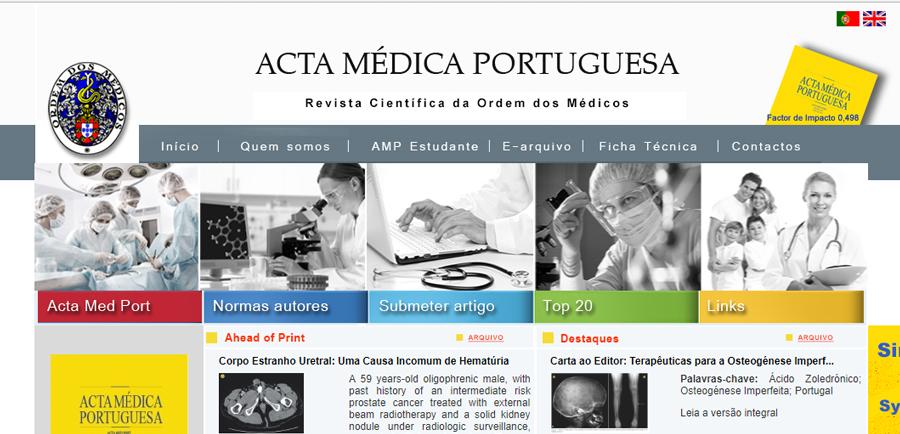 Acta Médica Portuguesa