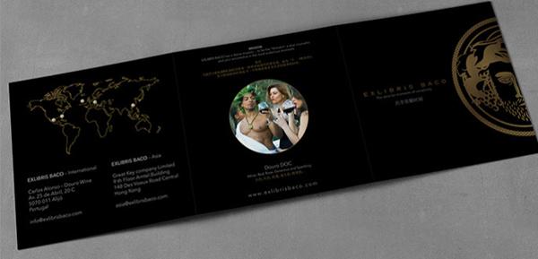 Exlibris Flyer Tri-Fold
