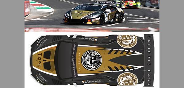 Exlibris Baco – Car Wrap Design