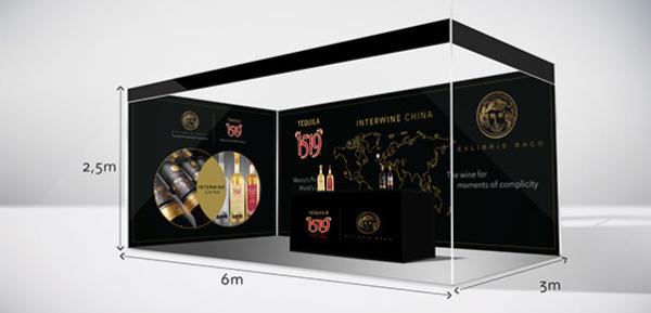Exlibris Baco – Design Stand InterWine China 2015